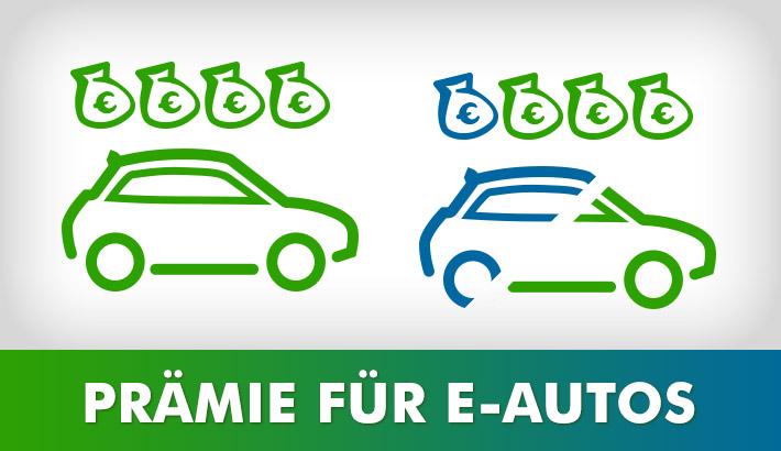 Mit Kaufprämie und Steuerboni zum eigenen Elektroauto