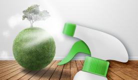 Umweltschutz beginnt schon beim Putzen Zuhause